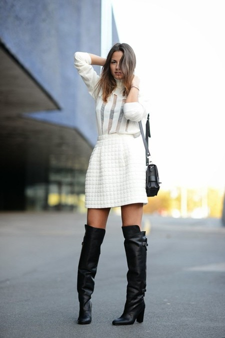 Te damos un motivo para romper tu hucha: las botas por la rodilla de H&M