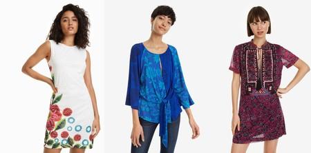 Flash Sale en Desigual: 70% de descuento durante el fin de semana en vestidos veraniegos, camisetas o faldas