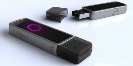 Callpod Dragon, adaptador de audio Bluetooth