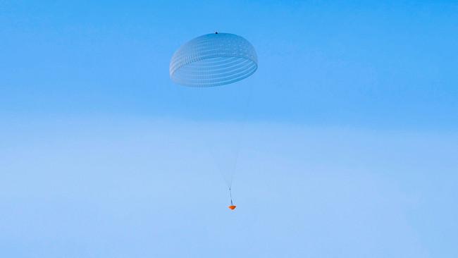 Exomars Parachute Inflation