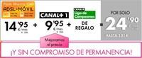 Jazztel añade televisión a su oferta convergente desde 34,85 euros al mes