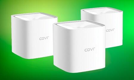 Por menos de 100 euros en Amazon puedes tener tu casa de hasta 460 m² cubierta con el sistema de WiFi en malla D-Link COVR-1103