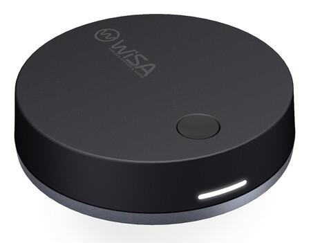 WiSA presenta SoundSend, un transmisor de audio multicanal inalámbrico para llevar el sonido de la tele a los altavoces sin cables