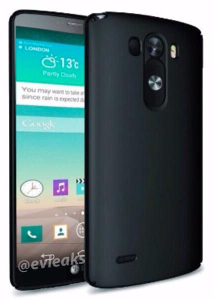 LG G3 frente