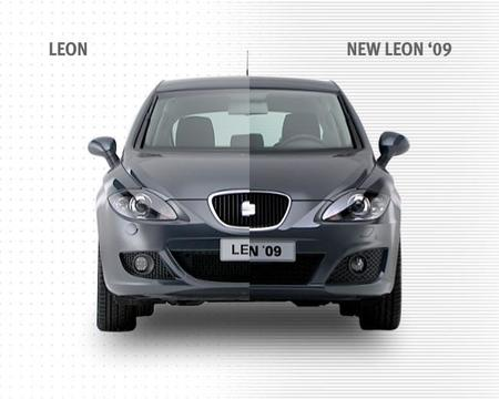SEAT León restyling delantera