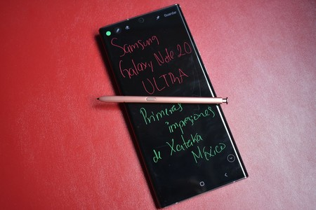 Samsung Galaxy Note 20 Ultra Primeras Impresiones Mexico S Pen Como Escribir Papel