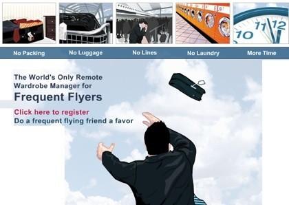 FlyLite, guardarropa para viajeros frecuentes