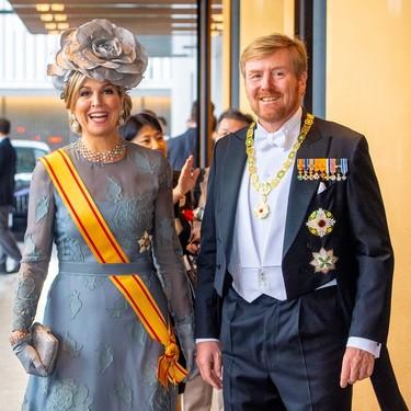 No es una boda, pero lo parece, así ha vestido la realeza europea en la entronización de Naruhito