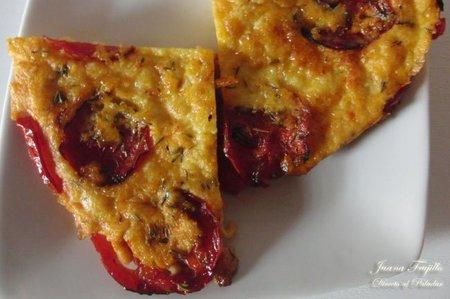 Receta del pastel frío de tomate