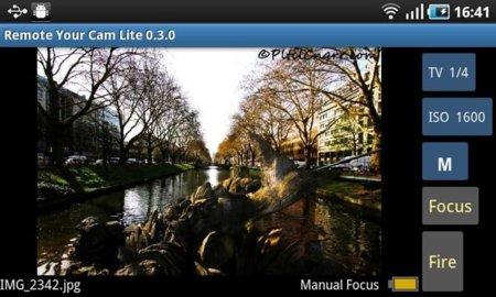 Aprende a controlar tu cámara de fotos con un teléfono Android