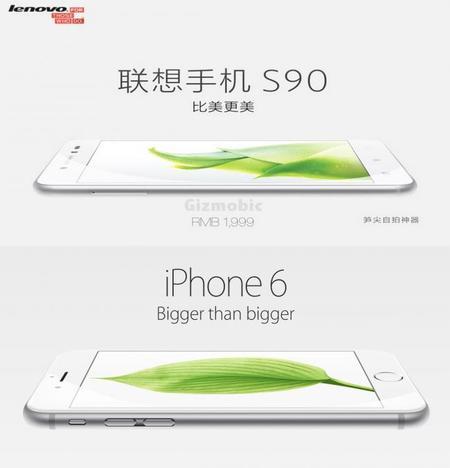 Lenovo trae al mercado ¿su propio iPhone 6?