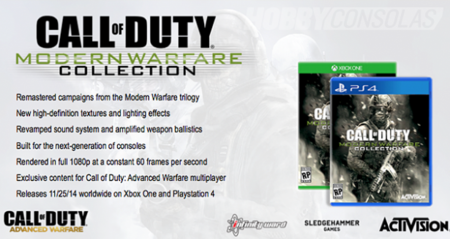 Filtrada imagen de Call of Duty Modern Warfare Collection para PS4 y Xbox One