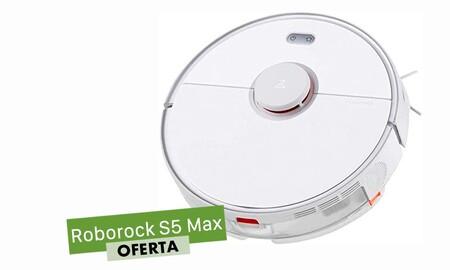 Regalar un robot aspirador como el Mi Roborock S5 Max estas navidades sale más barato con el cupón PXIAOMI15 de eBay: te lo deja 50 euros más barato