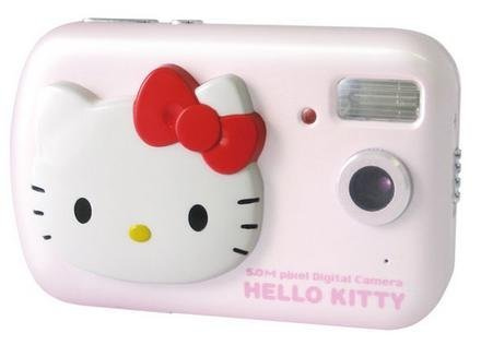 Hello Kitty: cámara de fotos digital
