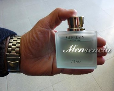 Guerlain Homme L'Eau, la fragancia de verano que me gusta para él