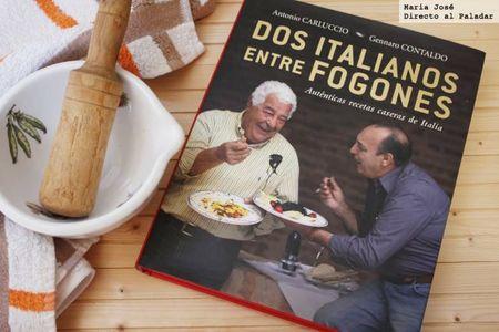 Dos italianos entre fogones. Libro de recetas