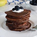 Tortitas fitness de chocolate, plátano y avena: receta saludable sin azúcar