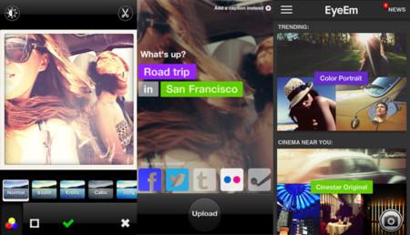 Redes sociales de fotografía - eyeem