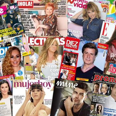 Mucho bañador en yates, la huída del emérito y algún que otro shippeo: estas son las portadas de la prensa rosa de la semana del 5 de agosto