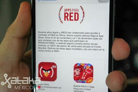 Apple vuelve con la campaña RED contra el VIH ahora también en aplicaciones