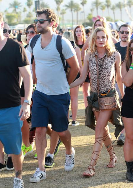 Diane Kruger Coachella 2015 Look