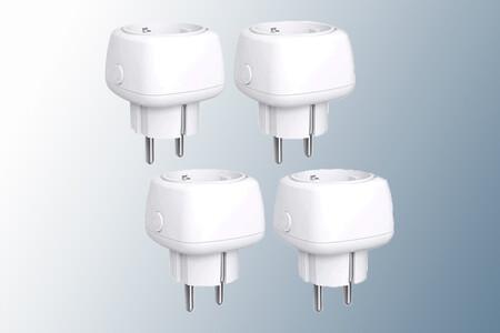 """El pack de cuatro enchufes """"inteligentes"""" compactos de meross con Wi-Fi está de oferta por 22,99 euros en Amazon"""