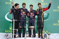 Red Bull le pone en bandeja la victoria a Sebastian Vettel