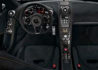 Interior del McLaren 650S Spider