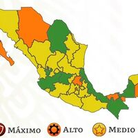 Casi dos tercios de México alcanzan el semáforo amarillo por COVID, pero el número de estados en verde disminuye