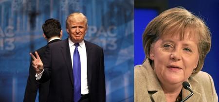 Choque de titanes entre Trump y Merkel. ¿Ganará la globalización o el proteccionismo?
