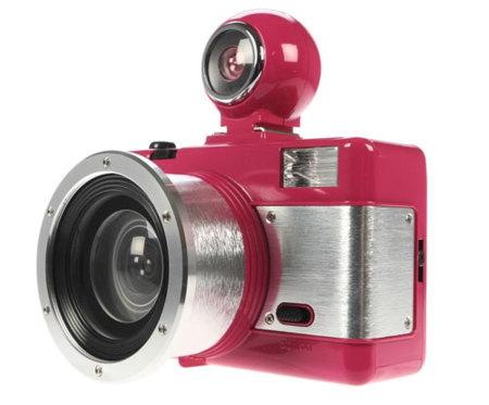 San Valentín: díselo con una cámara lomo, la Fisheye 2 rosa