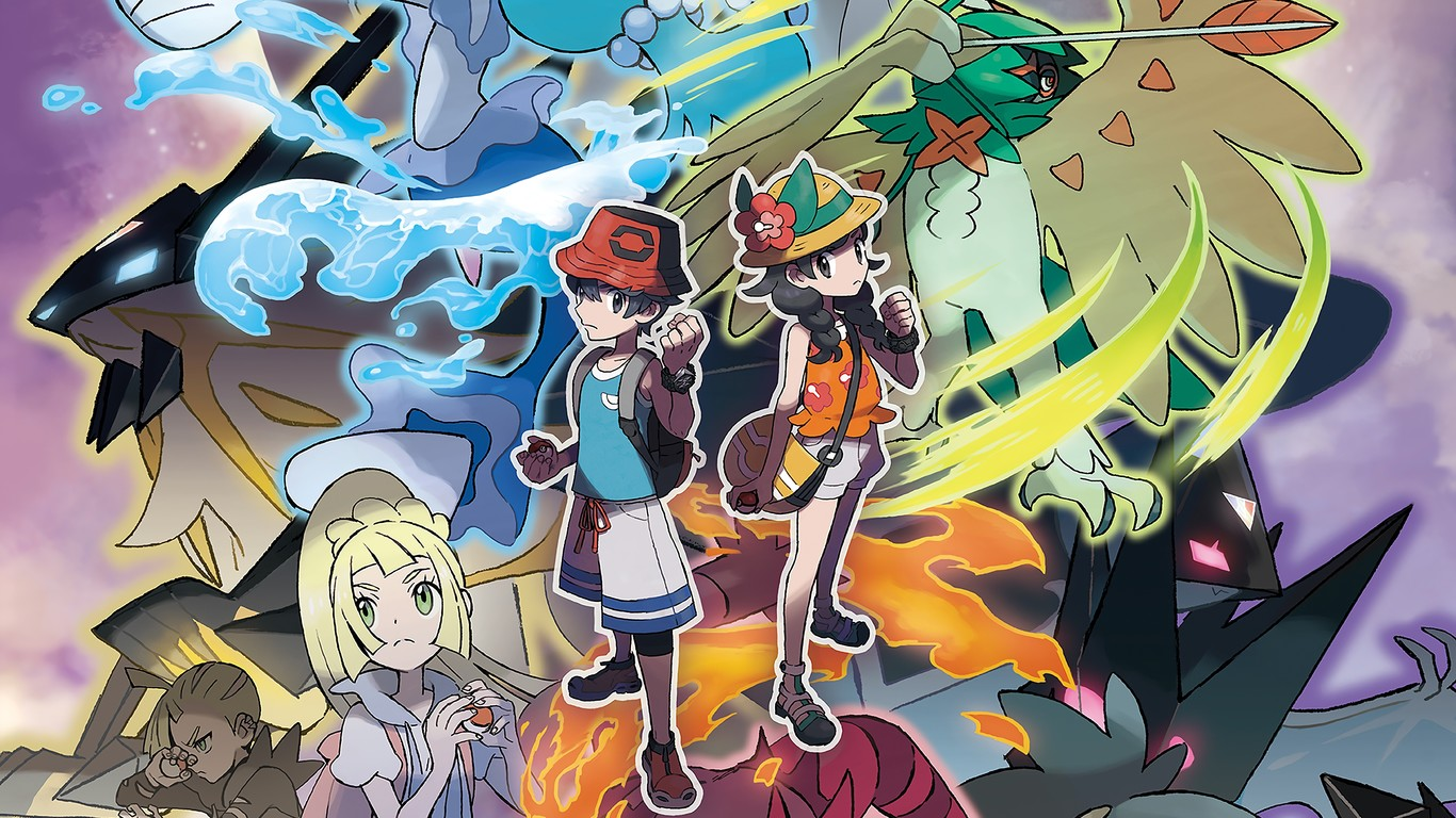 Historia de Pokemon Ultrasol