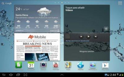 Ice Cream Sandwich comienza a llegar a los usuarios del Samsung Galaxy Tab 10.1 WiFi en Reino Unido