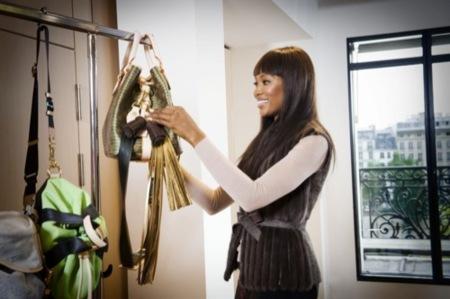 Louis Vuitton y Naomi Campbell: campaña con fines solidarios I