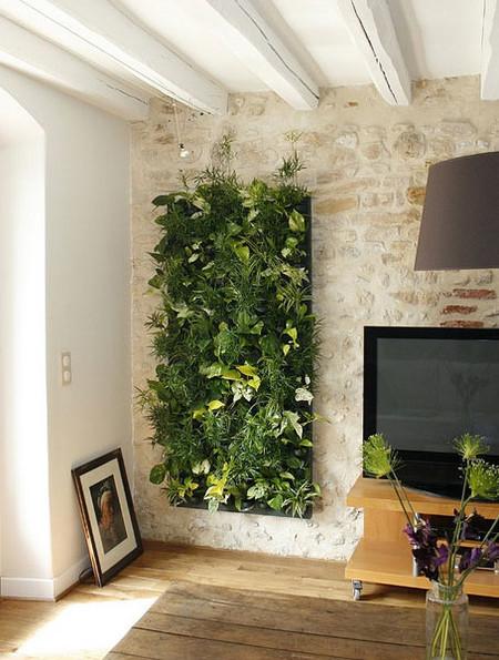 Jardín de pared
