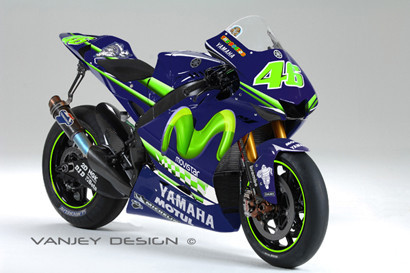 Yamaha M1 Rossi Movistar