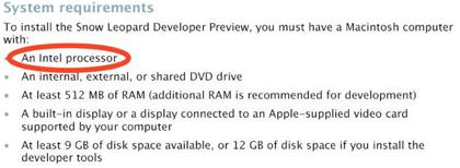 Es oficial: Snow Leopard no soportará macs con PowerPC