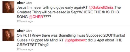 Twitter Cher