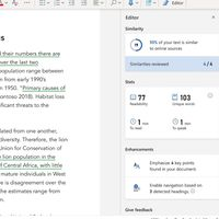 Microsoft Word implementa un detector de plagio basado en Bing para ayudar a estudiantes y escritores profesionales