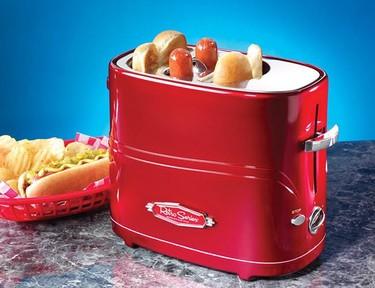 Tostador retro para hot dogs
