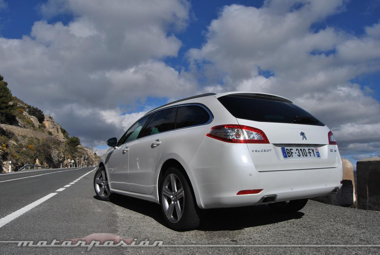Foto de Peugeot 508 y 508 SW (presentación) (110/118)