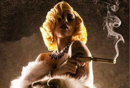 Lady Gaga, y su 'Aura': actriz, cantante y canción en Machete Kills, lo nuevo de Robert Rodriguez