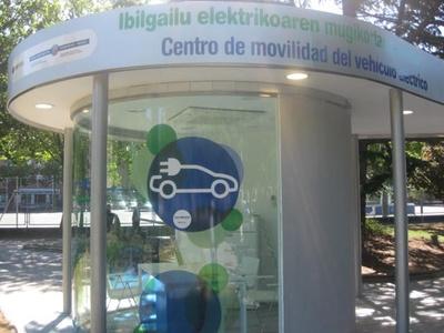 Centro de Movilidad de Vitoria-Gasteiz, punto neurálgico del vehículo eléctrico en Euskadi