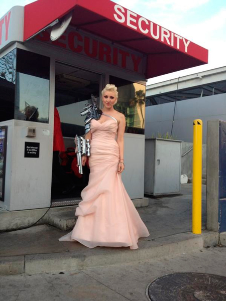 Sasha Gradiva Grammys 2012