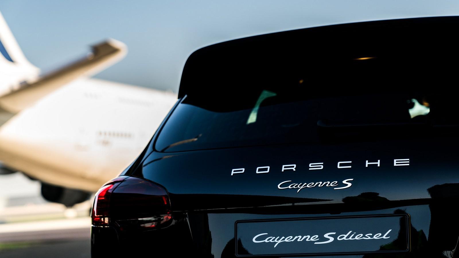 Foto de Porsche Cayenne vs Airbus (1/7)
