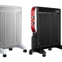 En eBay tenemos el  radiador de Mica de 2000 W en blanco o en negro por 55,95 euros con envío gratis