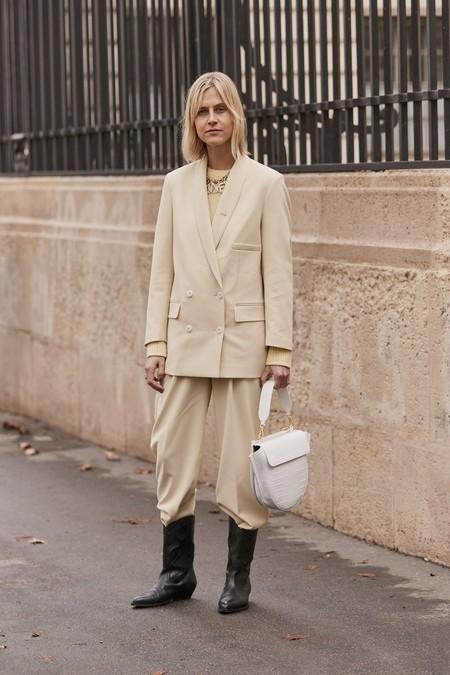 Como Llevar Pantalones Anchos De Vestir 14