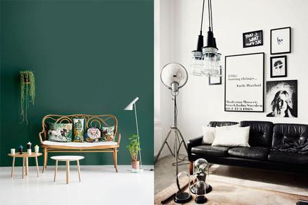 17 ideas para usar colores oscuros en casa sin que parezca que estas de luto