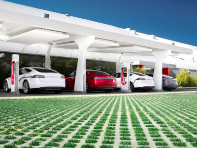 La actualización v8.0 de Tesla ya está en marcha y es, literalmente, muy cool