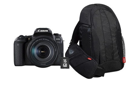Canon Eos 77d Pack